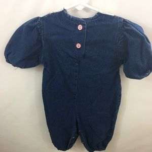healthtex One Pieces - Health-Tex Infant Girl Jumpsuit Sz 9 mo Denim NWOT